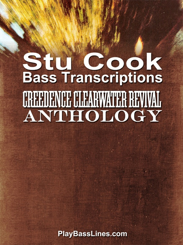 Creedence Clearwater Revival Anthology - Stu Cook Bass Transcriptions