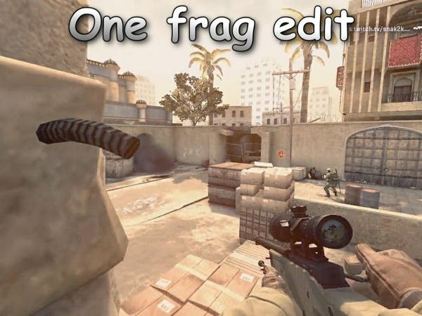 ONE FRAG CLIP EDIT BY SNAK2K