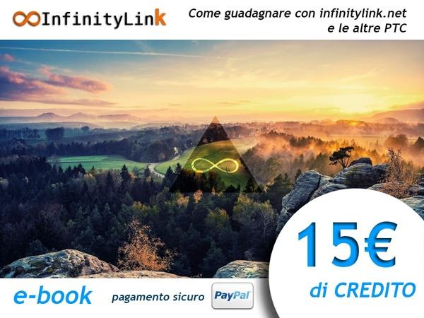 InfinityLink.Net - 15 € di credito + e-book