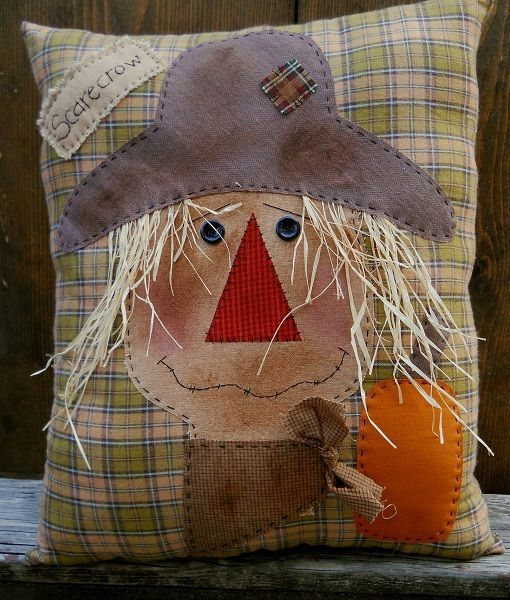 #218 Harvest Scarecrow E Pattern
