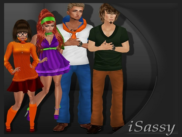 Scooby Doo Costumes - PNG