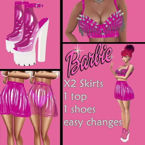 Plastic Barbie Package / Png