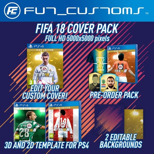 FIFA 18 Cover Pack