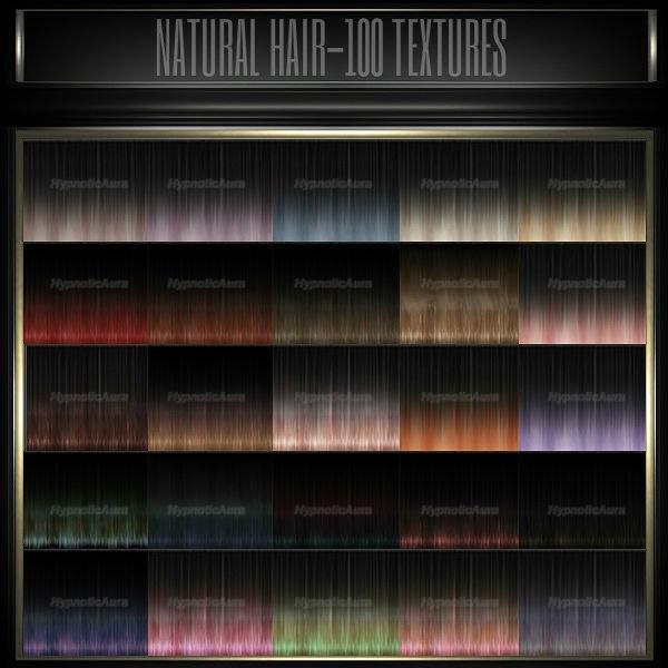[A]NATURAL HAIR-100 TEXTURES