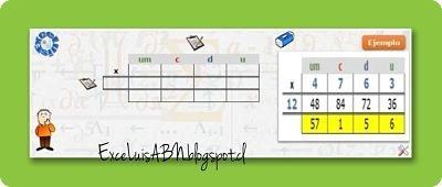 Multiplicación posicional ABN, en Excel Avanzado v1.0