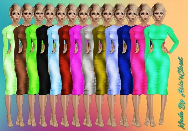 Shocking Dresses