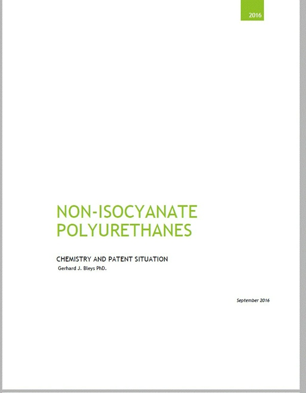 Non-Isocyanate Polyurethanes: Chemistry and  Patent Situation