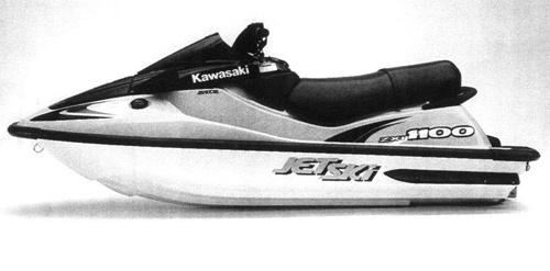 1996-2002 Kawasaki JetSki 1100Zxi JH1100 Factory Service Repair Manual Download