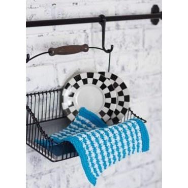 striped waslcloth
