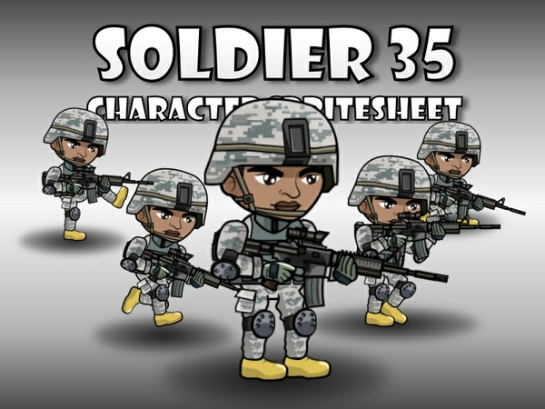Soldier Character 35