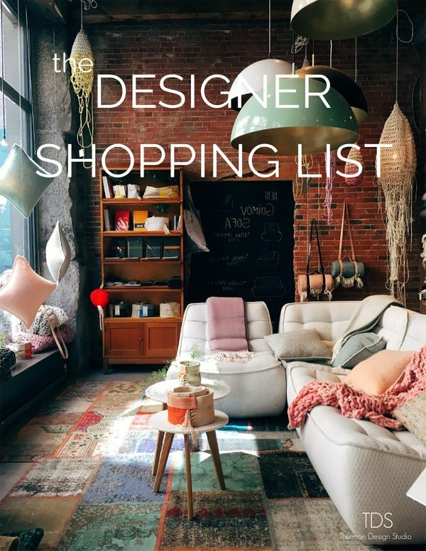 TDS- the Designer Shopping List