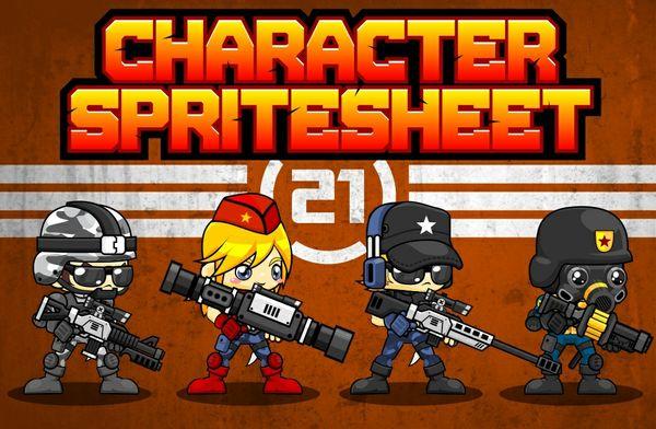 Advanced Soldier - Game Sprites
