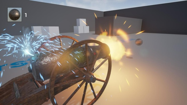 Cannon system UE4