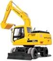 Hyundai Wheeled Excavator R140W-9S Service Repair Manual Download