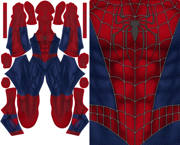 SPIDERMAN RAIMI PATTERN