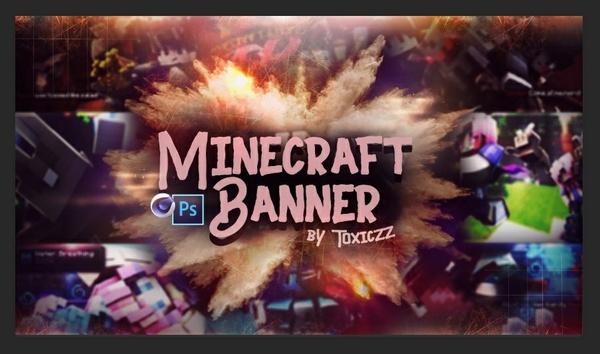 - Minecraft banner with Venom - ☑