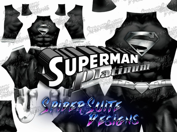 Platinum Superman New 52 2017 Pattern