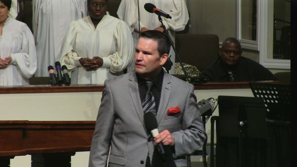 "Rev. Mark Drost 03-29-15am "" It's Over"" MP3"