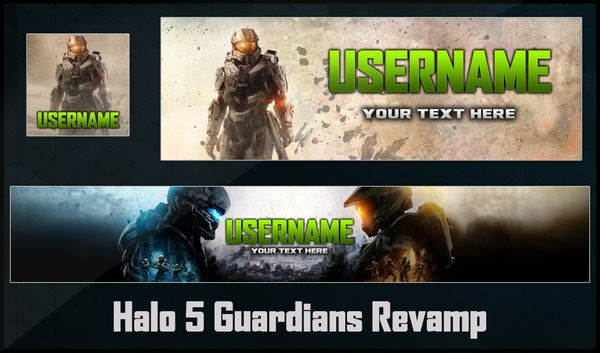 Halo 5 Social Media Revamp