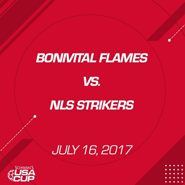 Girls U16 - July 16, 2017 - Bonivital Flames V. NLS Strikers