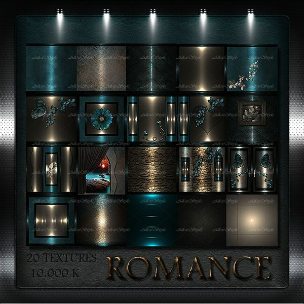 "IMVU TEXTURES FILE "" ROMANCE"""