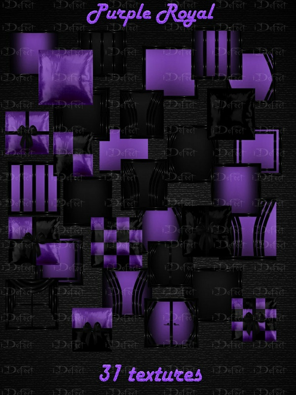 Purple Royal Room Texture