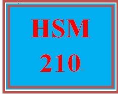 HSM 210 Week 9 Reflection Presentation