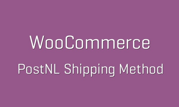 WooCommerce PostNL Shipping Method 1.2.4 Extension