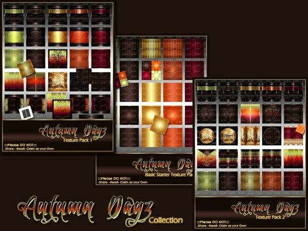 Autumn Dayz Texture Pack Collection-- $20.00