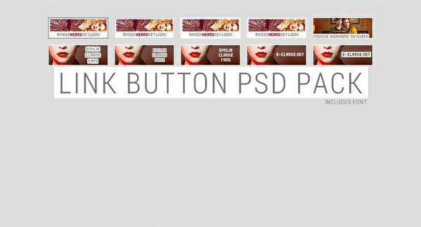 Link Button PSDs