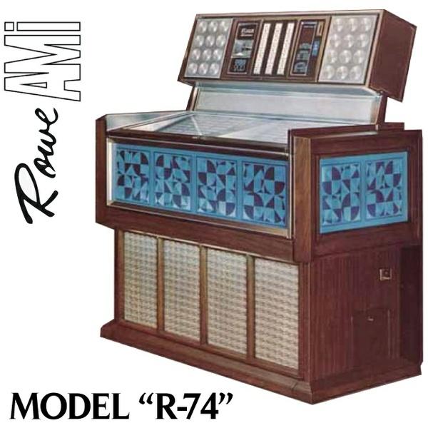 Rowe AMI  R-74   (1975)
