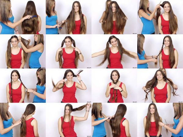 Tina & Siani's Long Hair Play & Trim