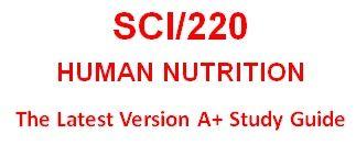 SCI 220 Week 4 WileyPLUS® Week 4 Quiz