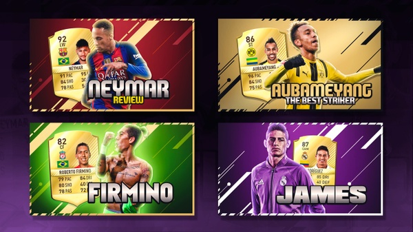 4 FIFA THUMBNAILS TEMPLATE FULL EDITABLE !!