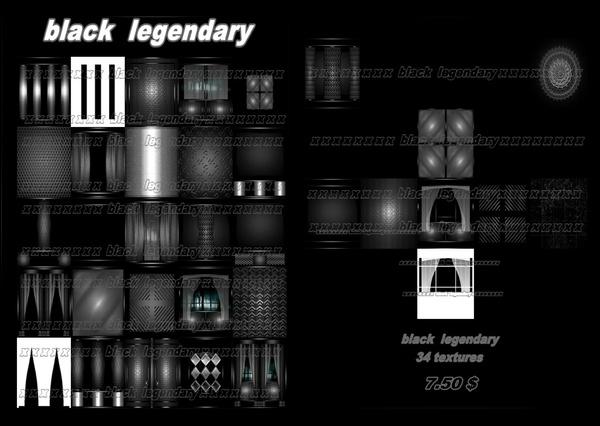 black legendary 34 textures