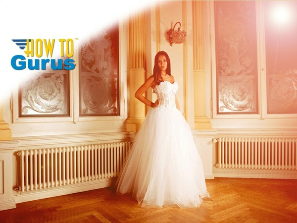 How to create a soft warm light look in Photoshop Elements 11 12 13 14 Tutorial