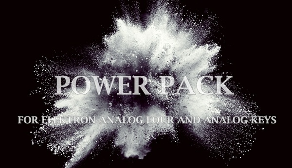 Power PACK Bundle for Elektron Analog Four/Keys (384 patches).