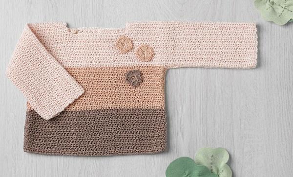 1-piece Crochet Sweater