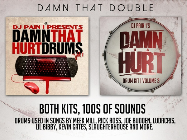 DJ Pain 1 - BOTH Hip-Hop Drum Kits