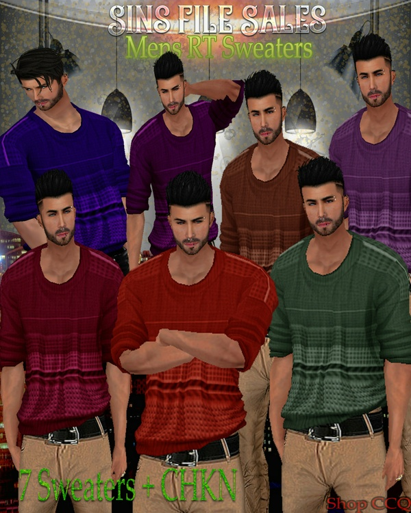 Mens RT Sweaters ◘