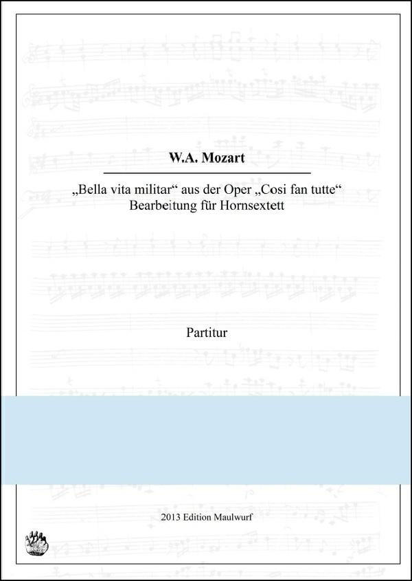 Mozart Marsch (Hornensemble)