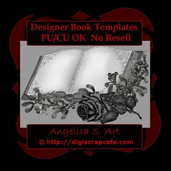 Designer Book Templates CU OK
