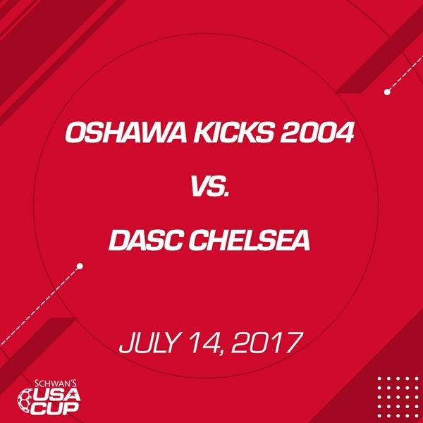 Girls U13 - July 14, 2017 - Oshawa Kicks vs DASC Chelsea