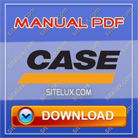 Case CX75SR-CX80 Crawler Hydraulic Excavators Service Manual