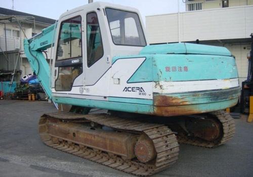Kobelco SK100 SK100L Hydraulic Excavator Parts Catalog Manual Download