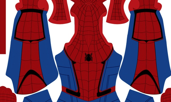 (FREE) Civil War Spider-Man (brighter version)