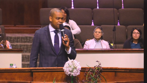 """Rev. Lawrence Warfield 03-12-17pm """" The Wall Must Fall """" MP3"""