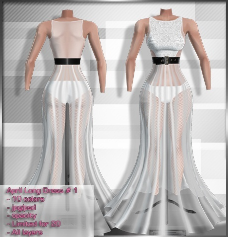 2014 Apr Long Dress # 1