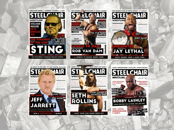 SteelChair Wrestling Magazine 1-6