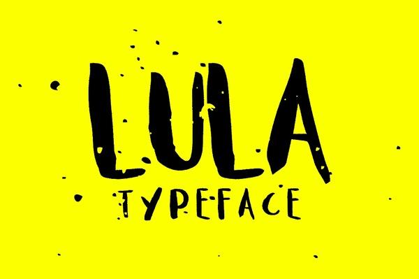 Lula Typeface